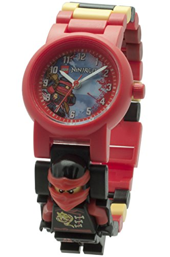 LEGO Unisex-Armbanduhr Ninjago Sky Pirates Kai