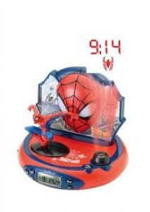 Spider-Man Radiowecker mit Projektion RP500SP